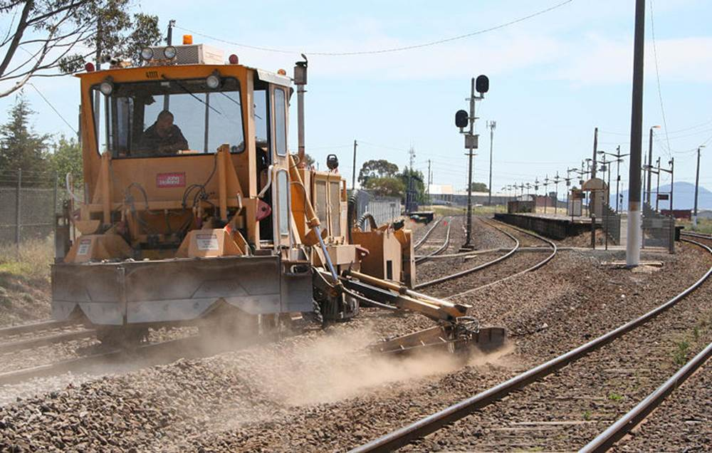 Railroad Track Construction by Southern National Track