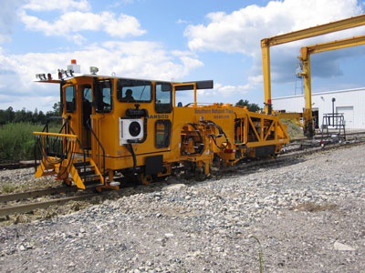 image of Southern National Track's Mark IV tamper equipment